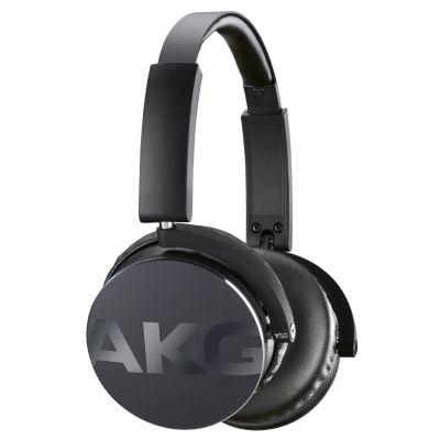 Черни висококачествени слушалки от затворен тип с кабел AKG Y50