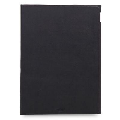 Черен кожен калъф Full Wrap Folio от Knomo за таблет Apple iPad Pro 12,9''
