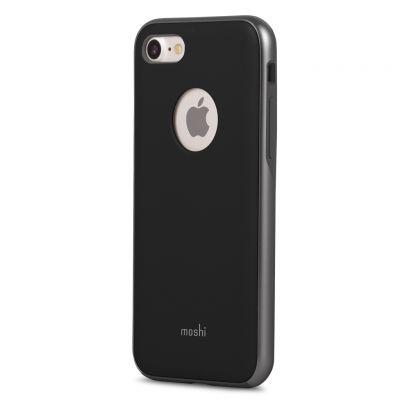 Черен защитен кейс Moshi iGlaze за iPhone 7