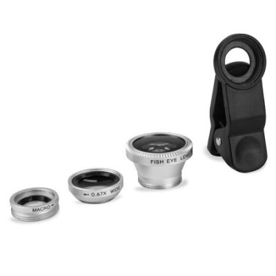 OLIXAR 3-in-1 Clip Camera Lens for Mobile and Tablets