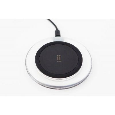 Черно безжично зарядно устройство Aiino с Qi стандарт