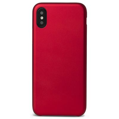 Plastic PC case for iPhone X EPICO ULTIMATE - red