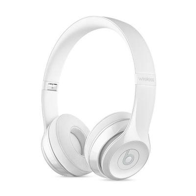 Beats Solo3 On-Ear бели безжични слушалки с рамка и наушници с размер на ухото