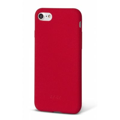 Silicon case for iPhone 7/8 EPICO SILICONE - red