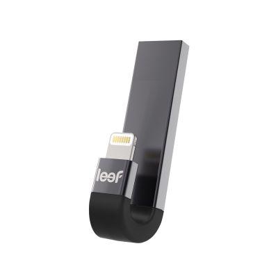 Сребриста външна памет iBRIDGE 3 с J-образна форма и Lightning конектор - 16GB