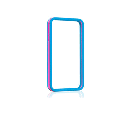 Gear4 - The Band case for IPH/5/5S - Blue/Pink  [IC508G]