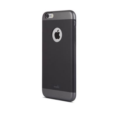 Черен кейс от поликарбонат Moshi за Apple iPhone 6 Plus