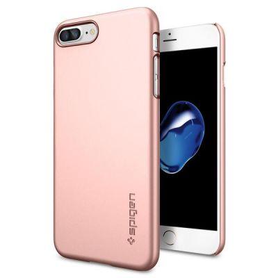 Spigen Thin Fit, rose gold - iPhone 7 Plus
