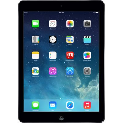 "Таблет Apple iPad Air с 9.7"" дисплей и Wi-Fi + Cellular 16GB - тъмносив цвят"