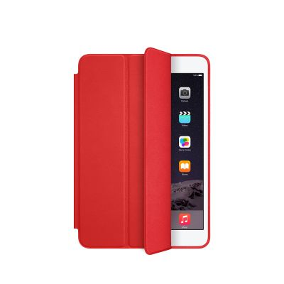 Червен iPad mini Smart Case кожен защитен кейс
