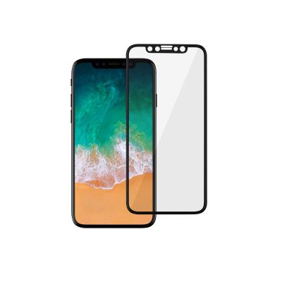 EPICO 3D+ Tempered glass for iPhone X - Black