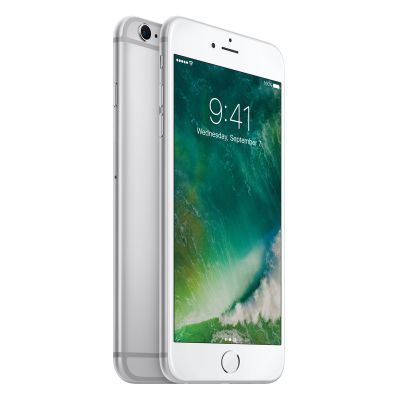 Сребрист iPhone 6s Plus със 128 GB памет