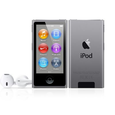 Apple iPod nano плейър с 16GB памет - тъмносив цвят