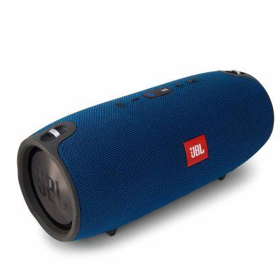 Синя безжична преносима активна тонколона JBL XTREME