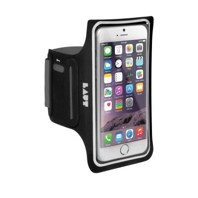 Laut - Elite-LD sport armband for iPhone 6/6s Plus - Black
