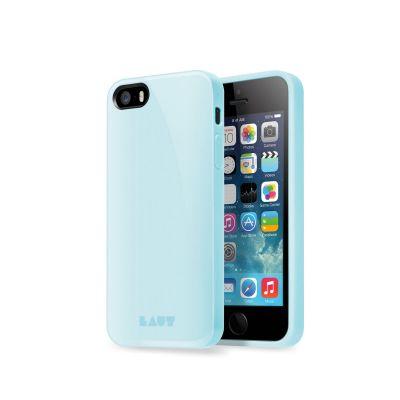 Светлосин защитен кейс Laut Huex Pastel за iPhone 5/5s/SE
