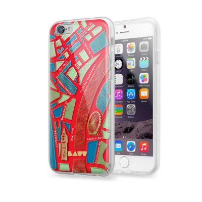 Защитен кейс Laut Nomad за iPhone 6 Plus с шарка на град Лондон