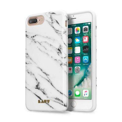 Бял защитен кейс Laut Huex Elements за iPhone 7 Plus с перлен ефект
