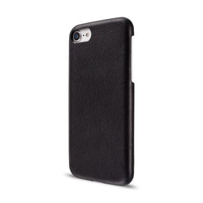Черен кожен кейс Leather Clip от Artwizz за смартфон Apple iPhone 7
