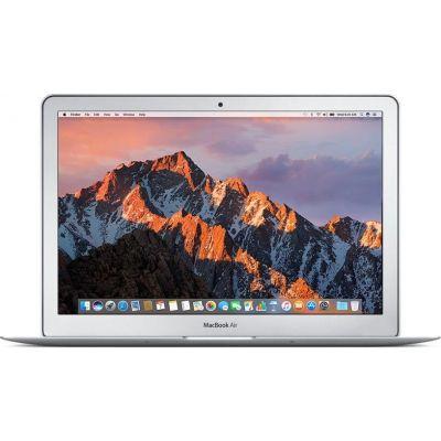 "Сребрист лаптоп Apple MacBook Air 13"" с двуядрен Intel Core i5 1,8GHz процесор, памет 128GB - международна клавиатура"