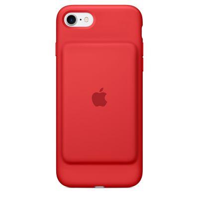 Червен кейс с вградена батерия Apple Smart Battery Case за iPhone 7 - специално издание