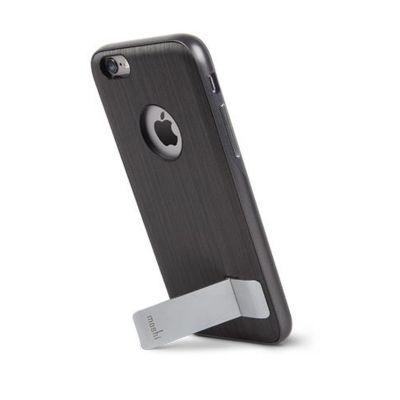 Черен кейс Kameleon с алуминиева стойка за Apple iPhone 6 Plus  от Moshi