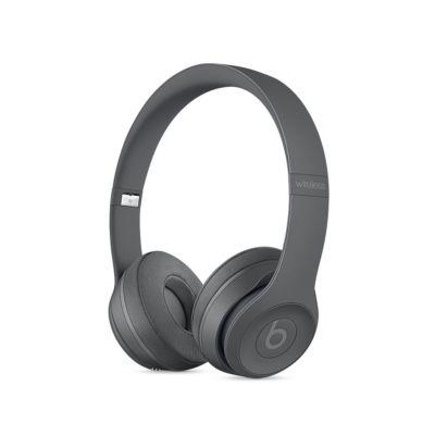 Beats Solo3 On-Ear Neighborhood Collection сиви безжични слушалки с рамка и наушници с размер на ухото