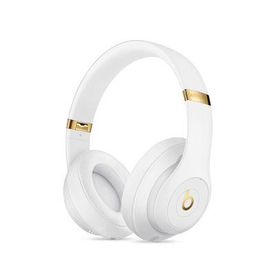 Beats Studio 3.0 Over-Ear бели безжични слушалки с рамка и наушници, обхващащи ухото
