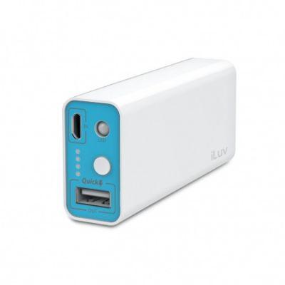Бяла батерия iLuv myPower 5200 mAh