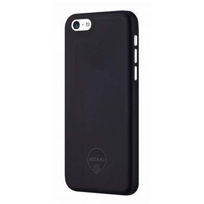 Черен ултратънък кейс Ozaki за Apple iPhone 5C