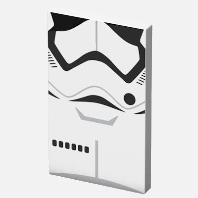 Преносима външна батерия Tribe Star Wars Stormtrooper - бяла