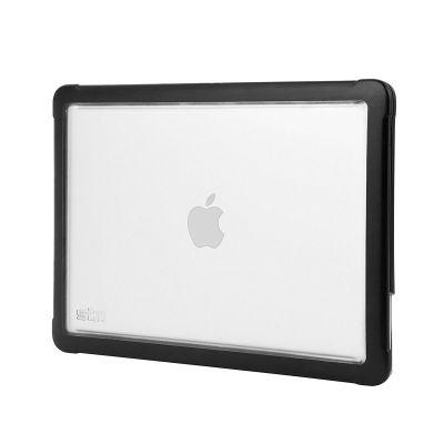 Черен подсилен кейс Dux от STM за лаптоп Apple MacBook 12''