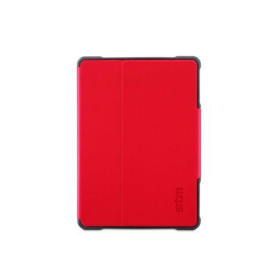 Червен подсилен кейс Dux Plus Ultra Protective от STM за таблет Apple iPad mini 1/2/3