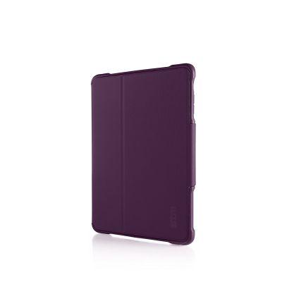 Лилав подсилен кейс Dux от STM за таблет Apple iPad Air 2