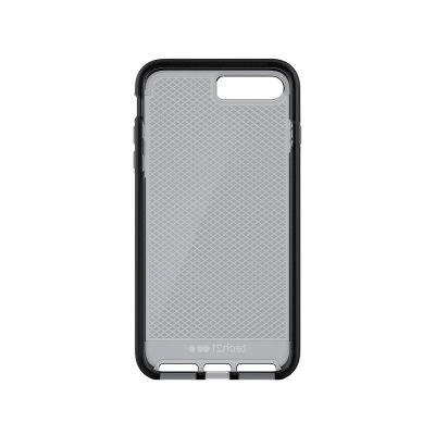 Кейс Evo Check от Tech21 за смартфон Apple iPhone 7 Plus в сиво и черно