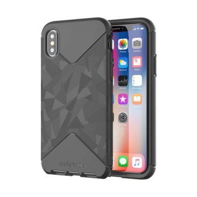 Черен защитен кейс Tech21 Evo Tactical за iPhone X