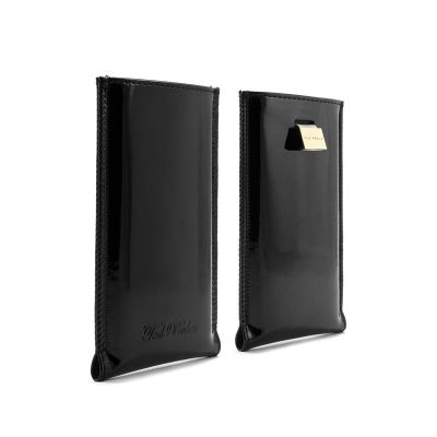 Ted Baker - Patent Leather Pouch for iPhone 5/5S/5C - Black
