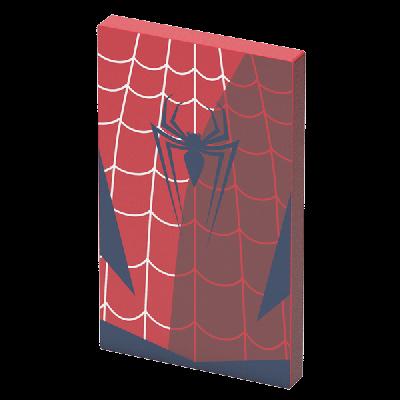 Преносима външна батерия Tribe Marvel Spiderman - червена