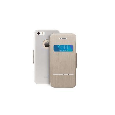 тъмносив сгъваем чувствителен на допир кейс Moshi за Apple iPhone 5/5S