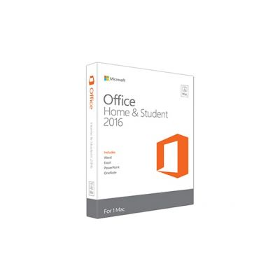 Microsoft Office Mac Home Student 2016 English EuroZone Medialess P2