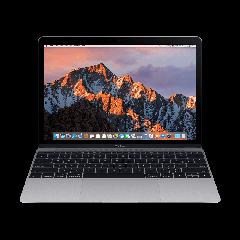 Тъмносив лаптоп Apple MacBook с 256 GB SSD